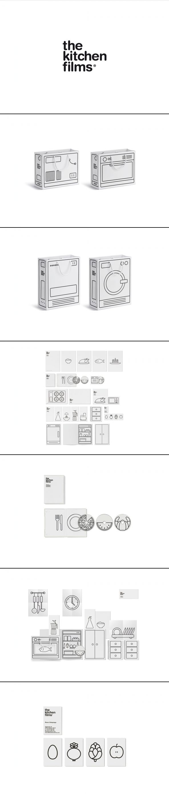 branding the Kitchen Films by Ruiz + Company