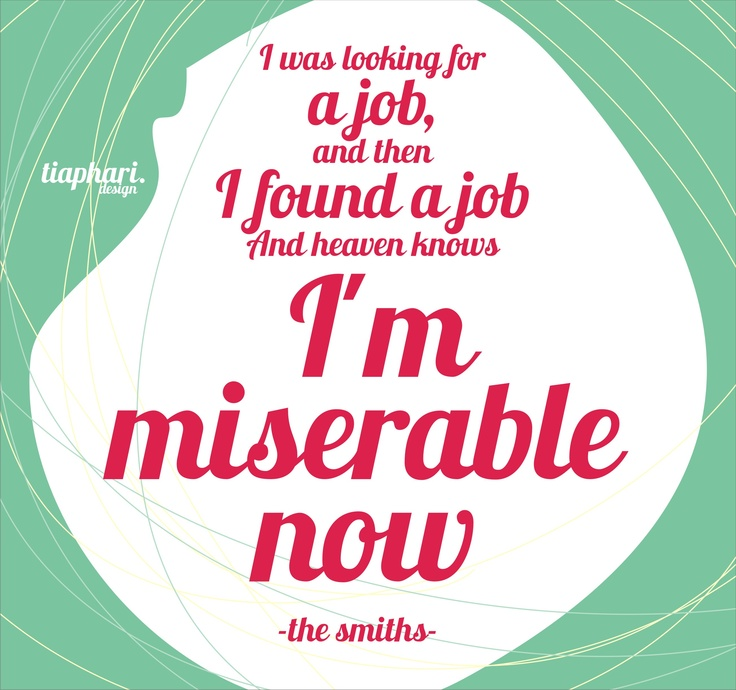 Heaven Knows I'm Miserable Now  The Smiths