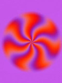 This optical illusion is a great example of Quantum Physics... it changes (stops) when you intentionally look at it... the role of the observer is imminent!