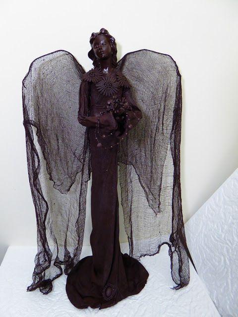 Mój magiczny Świat : brązowy anioł z powetexu