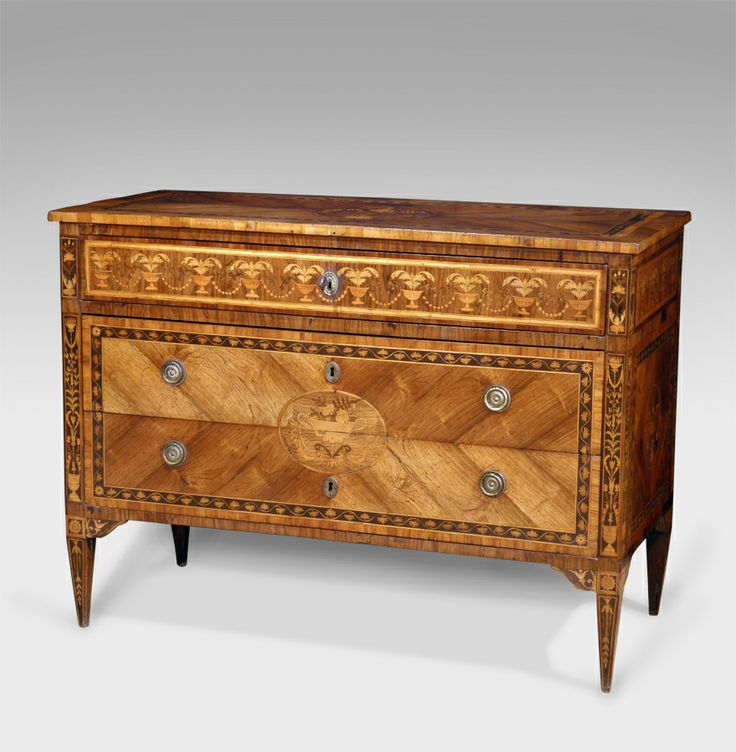 Recent Purchases Now In   Stunning Late Century North Italian Rosewood  Commode In The Manner Of Giuseppe Maggiolini. Fabulously Detailed Marquetry  Work To ...