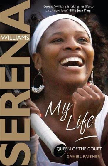My Life by Serena Williams. From growing up in the tough neighborhood of Compton, California, to being trained by her father on courts littered with broken glass and drug paraphernalia, to becoming the top women's player in the world, Serena has proven to be an inspiration to her legions of fans. Her accomplishments have not been won without struggle. She has been derailed by injury, criticized for her unorthodox approach to tennis, and was devastated by the tragic shooting of her older…