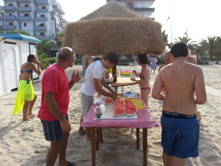 Spiaggia privata hotel royal