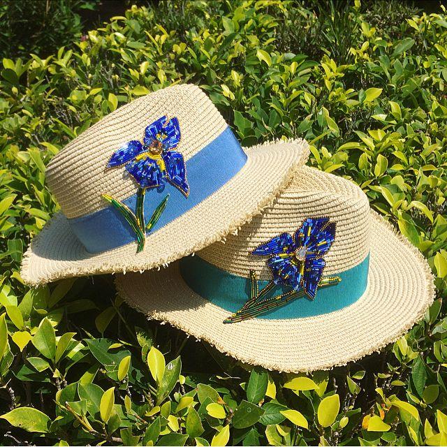 Irina Vafina в Instagram: «Летние шляпы с ирисами уже завтра будут в городе Н И канотье еще Р-р 56-57»