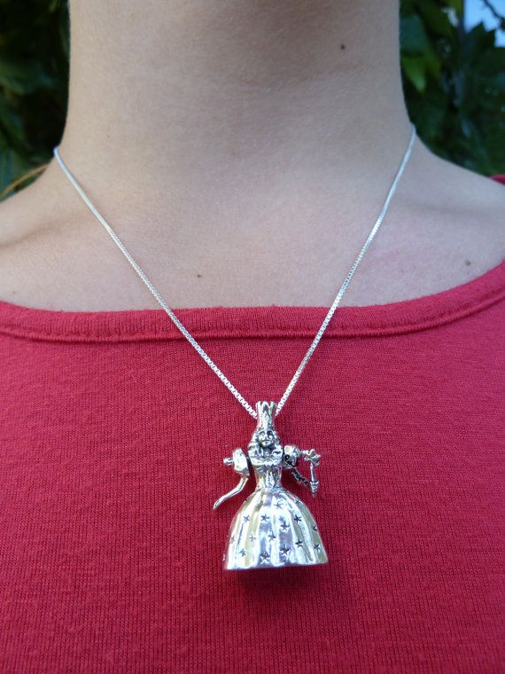 Sterling Silver Moveable Wizard of Oz by MorganFischerJewelry
