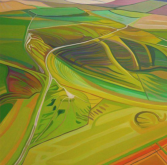 White Horse Hill ~ Uffington by Anna Dillon