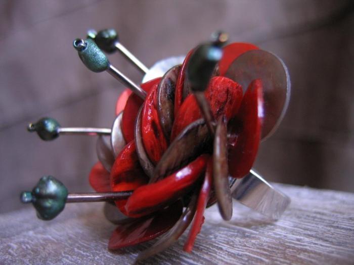 """""""Autumn Bouquet"""" ring  Faun Noir Jewellery  www.faunnoir.com"""