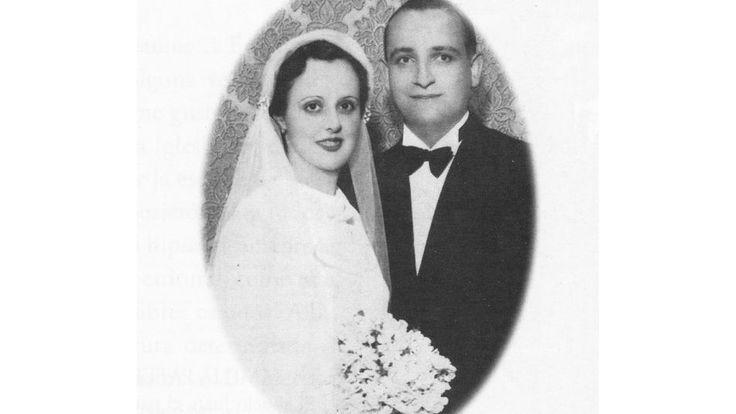 Retrato en 1935 de la boda de los padres de Francisco I, Maria Regina Sívori y José Mario Bergoglio