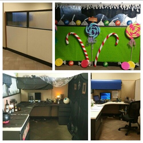 Halloween Cubicle Decoration Ideas: Decorate Your Office Cubicle For Halloween With DIY Props