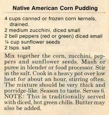 native american recipes with corn - Google Search