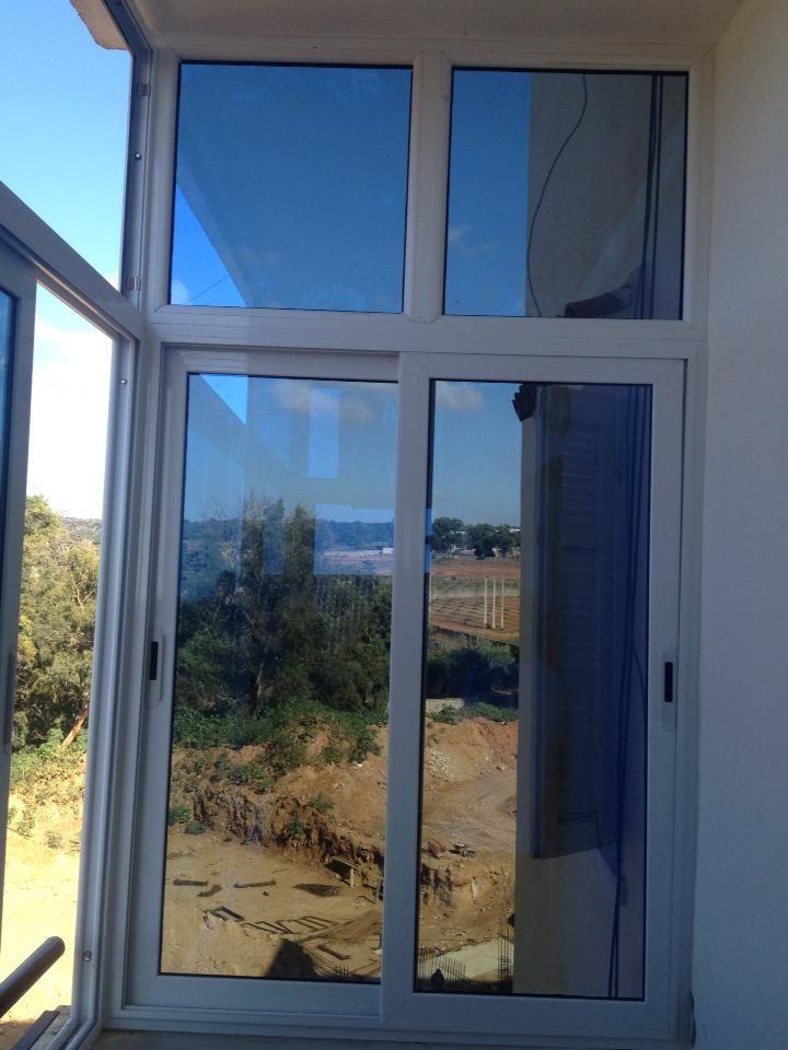 25 b sta porte en aluminium id erna p pinterest porte for Isoler fenetre simple vitrage