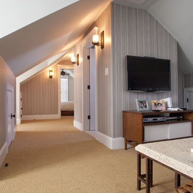 136 best images about attic remodel on pinterest for Attic remodel ideas