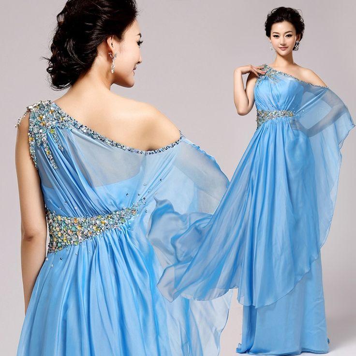 Ideas About Goddess Prom Dress On Pinterest