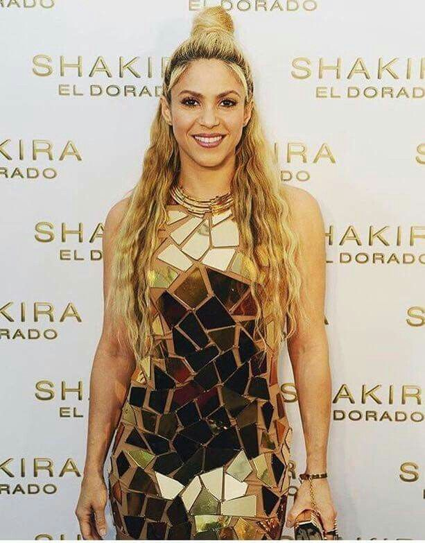 """There's no better makeup than self-confidence"" Shakira"