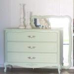 Mint Dresser Redo |painting tutorial