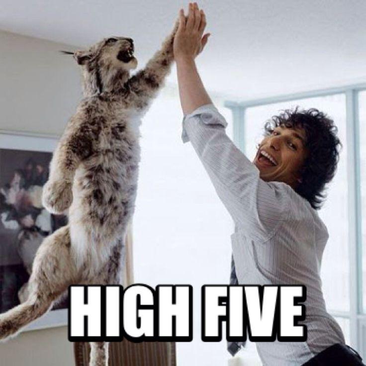 High five meme | Memeland | Pinterest | Meme