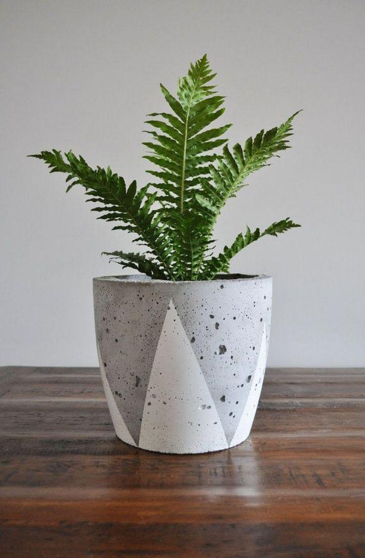 how to make lightweight concrete planters