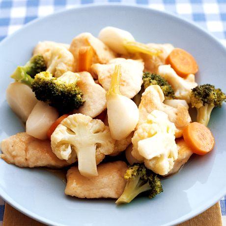 チキンホットサラダ | 脇雅世さんのサラダの料理レシピ | プロの簡単料理レシピはレタスクラブニュース