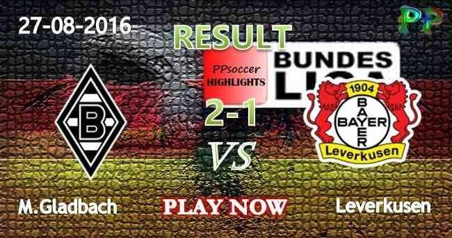 Borussia M.Gladbach 2-1 Bayer Leverkusen 27.08.2016 HIGHLIGHTS - Germany…