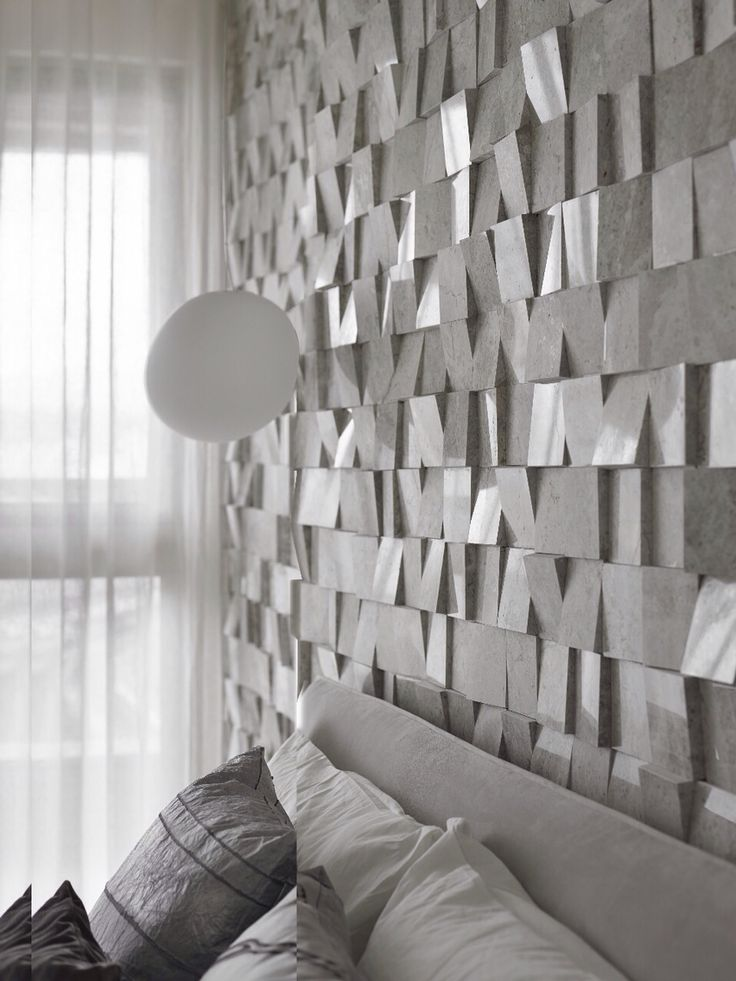 2014 t residence by yydg wallcandy 3d wallwall designwhite - Architectural Wall Design