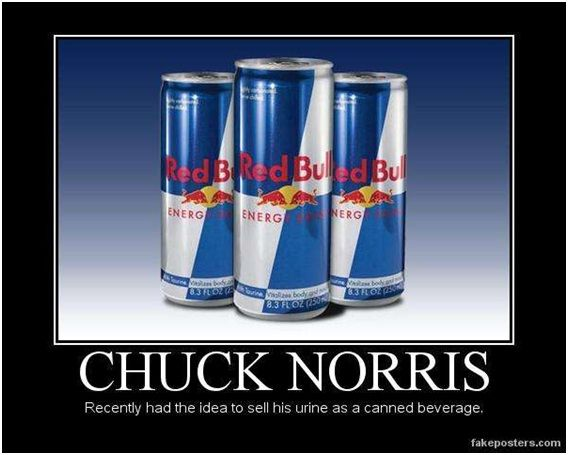 Red Bull Is Not what You Think-Best Chuck Norris Memes Ever