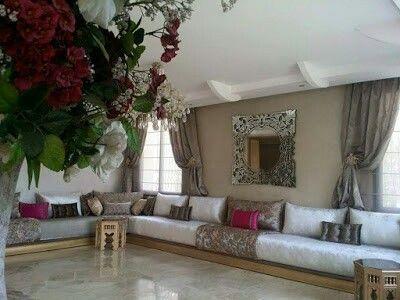 17 best images about salons marocains moroccan living room on pinterest coins diy bed frame. Black Bedroom Furniture Sets. Home Design Ideas