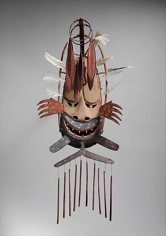 North Wind Mask (Negafok), early 20th century, Yup'ik people of Alaska