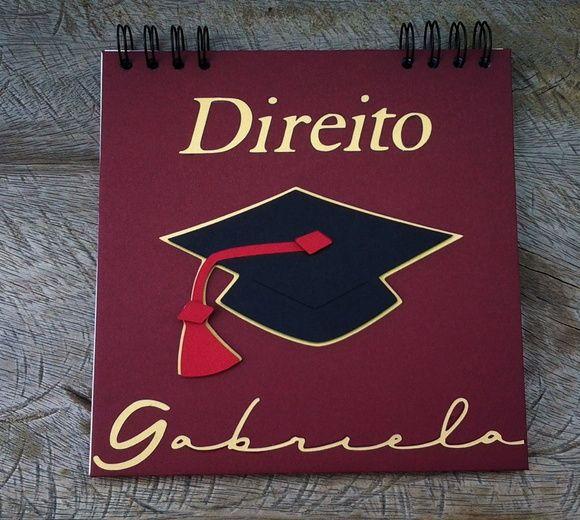 scrapbook p/ mensagens e fotos Graduação