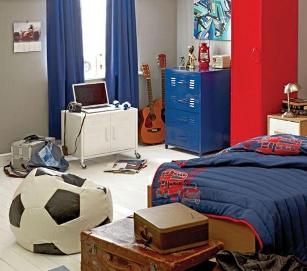 deco chambre garcon ado foot. Black Bedroom Furniture Sets. Home Design Ideas