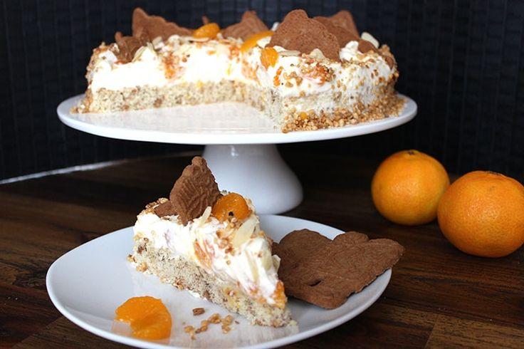 Sallys Blog - Mandarinen-Spekulatius-Torte