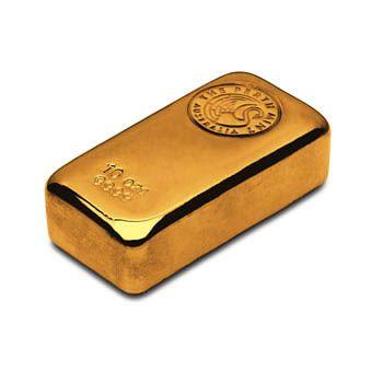 Perth Mint 10oz Gold Cast Bar
