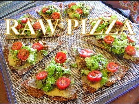 Vegan Pizza Raw Food Recipe For Kids - Super Raw Life RecipesRaw Food Recipes & Vegan Recipe Videos