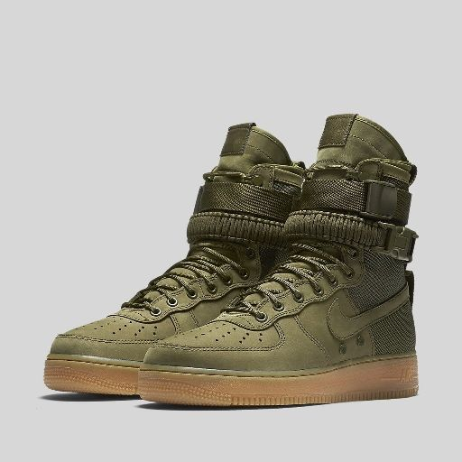NIKE SF AF1 SPECIAL FIELD AIR FORCE 1 FADED OLIVE | Sneakers