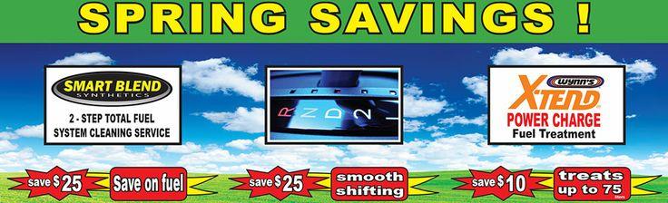 Spring Savings!  http://www.lubecity.ca/