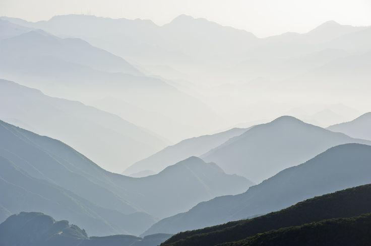 Looking Like a Watercolor- San Gabriel Mountains