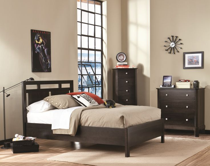 Perfect Balance Urbane Collection Contemporary Bedroom Set Made In Canada