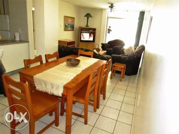 R  1,400,000: A comfortable apartment on the Main each in Margate for sale! 3 Bed Furnished Apartment  2 x double rooms Main room opening onto the balcony 1 x rooms with 2 x single beds  2 Bath (Main en-suite)...