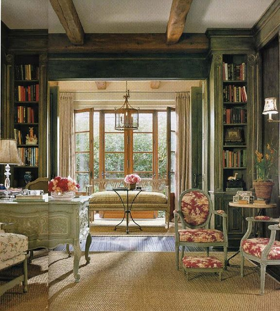 96 Best Office Study Library French Country Images On