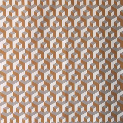 M :: Iván Meade - Cubo fabric in Miel/Palomal/Crema #ivanmeade #fabrics