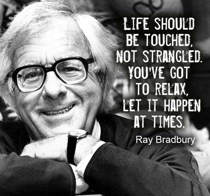 RAY BRADBURY Biography - Writers