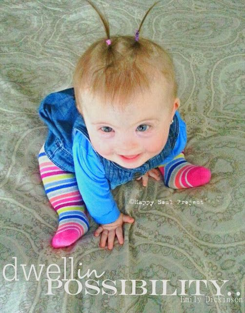 National Down Syndrome Awareness Month- Happy Soul Project's Awareness Pip Pics....#downsyndrome, #pigtails, #babygirl clothes,