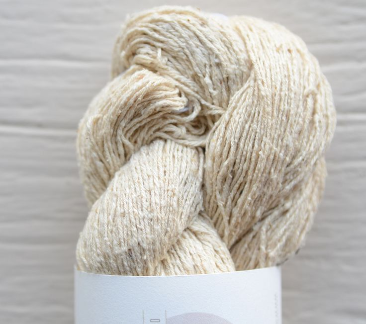 Hand-dyed 100% Mulberry Silk Noil Yarn  An incredibly soft raw silk spun in India that is machine washable and  perfect for any project. The silk is full of small nubs that give it a  wonderful texture all while keeping the slight sheen one comes to expect  from a silk. It is a go to yarn for a