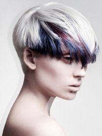 Best Creative Colour Images On Pinterest Hairstyle Plaits - Creative hairstyle color