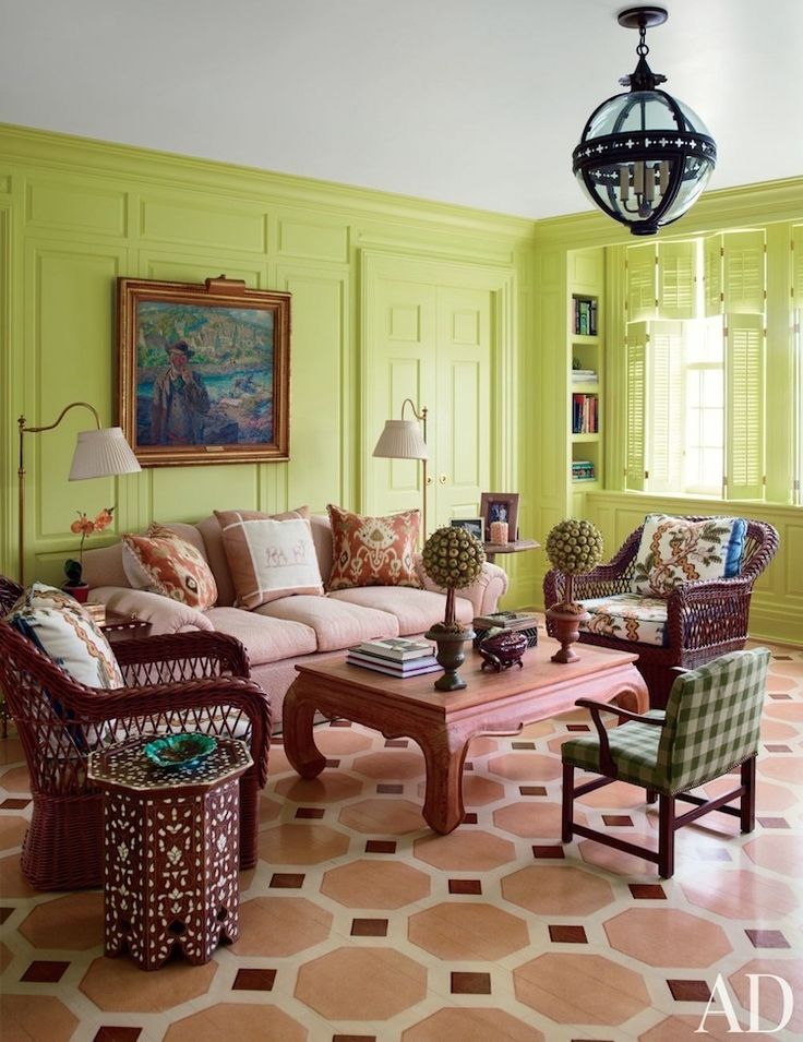 9 fabulous shades of green paint and one common mistake