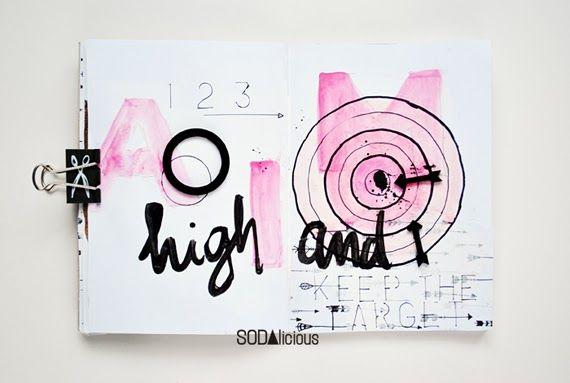 made by Olennka ► SODAlicious art journal challenge No43