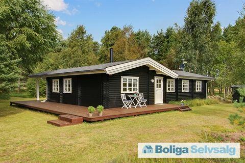 Arielvej 15, 9982 Ålbæk - Charmerende bjælkehus i det skønne Skiveren #ålbæk #fritidshus #boligsalg #selvsalg