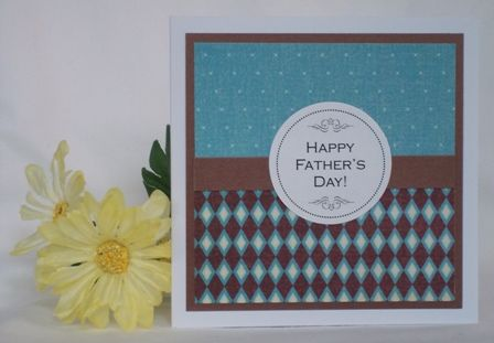 you could use two patterned paper from the same collection, or even 2-sided patt...