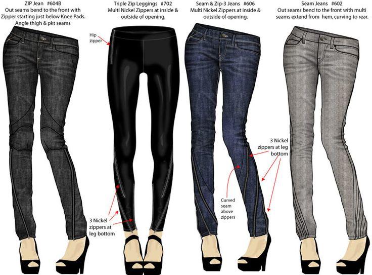 DenimWork - Portfolio of Freelance Technical Fashion Design (Tech ...