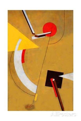El Lissitzky - Proun, 1923 Giclée-Druck