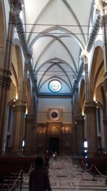 Nave lateral esquerda- Catedral de Florença/ IT 01/2016